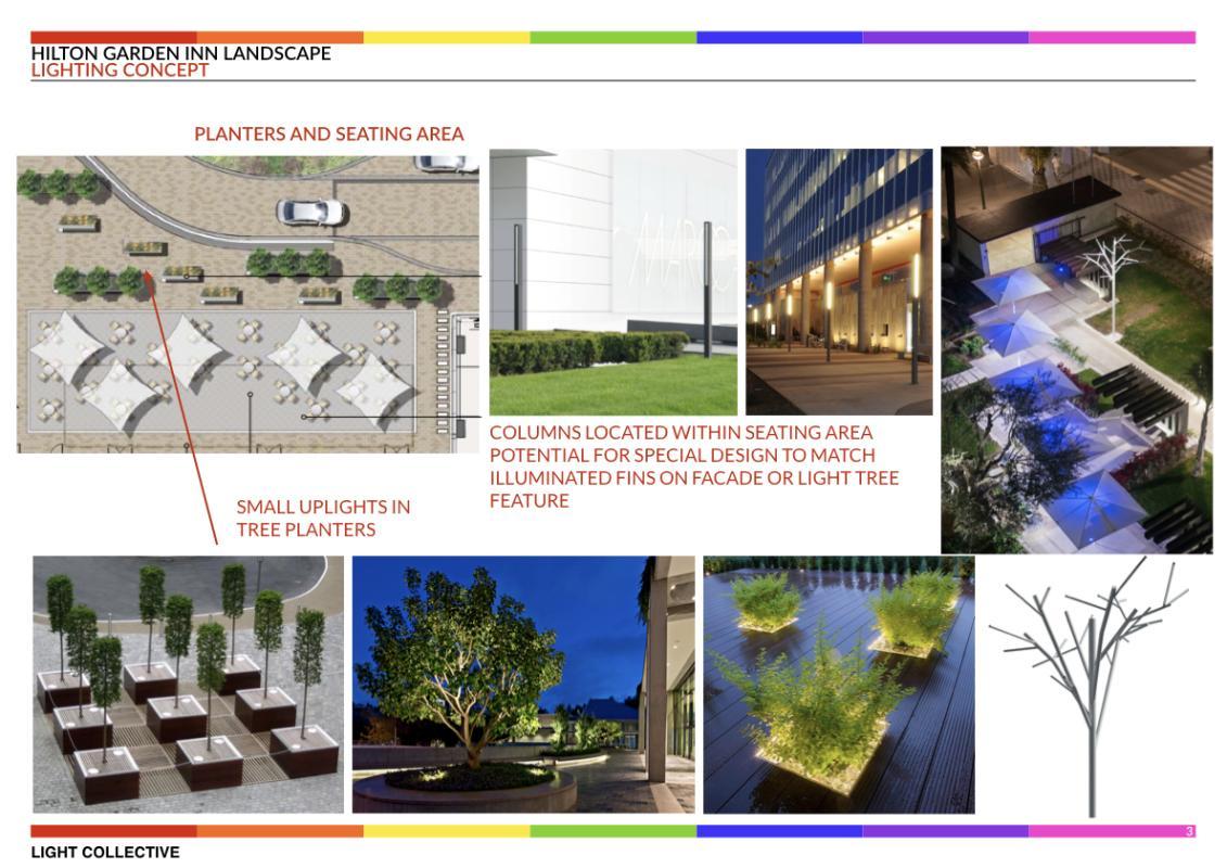 Hilton Garden Inn - Kuwait | Design of light | Light ...