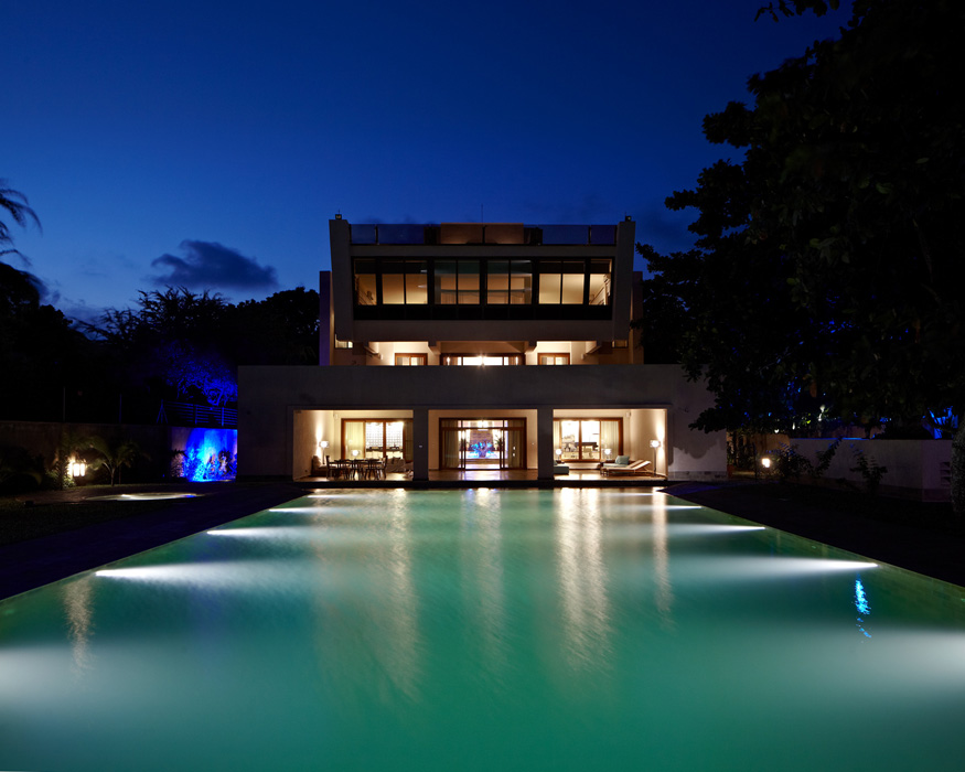 Lux London >> Private House, Kenya | Light:Projects | Light Collective